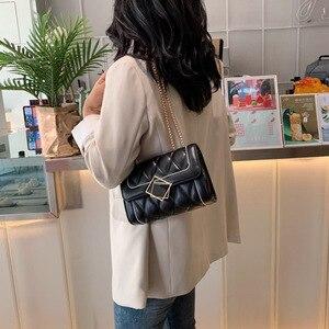 2020 super fire fashion ladies messenger Bags Pu leather shoulder bag girl simple flip phone bag ladies casual crossbody Bags