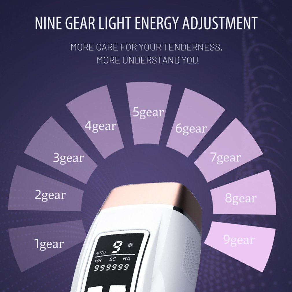 Hair Removal Device Home Laser Hair Removal Device Freezing Epilator Whole Body Painless Hair Removal Machine enlarge