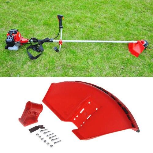 Cubierta protectora para recortadora de Hierba roja 26mm con cuchilla para desbrozadora CG520 430 ^