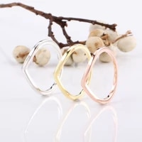 100 925 sterling silver pan ring creative v shaped wish shining simple ringfor women wedding party gift fashion jewelry