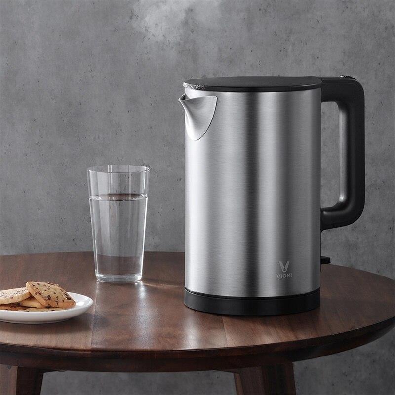 Оригинальный электрический чайник VIOMI, чайник с подогревом, чайник для воды, быстрое закипание, 304 л, из нержавеющей стали, большая емкость кВ...