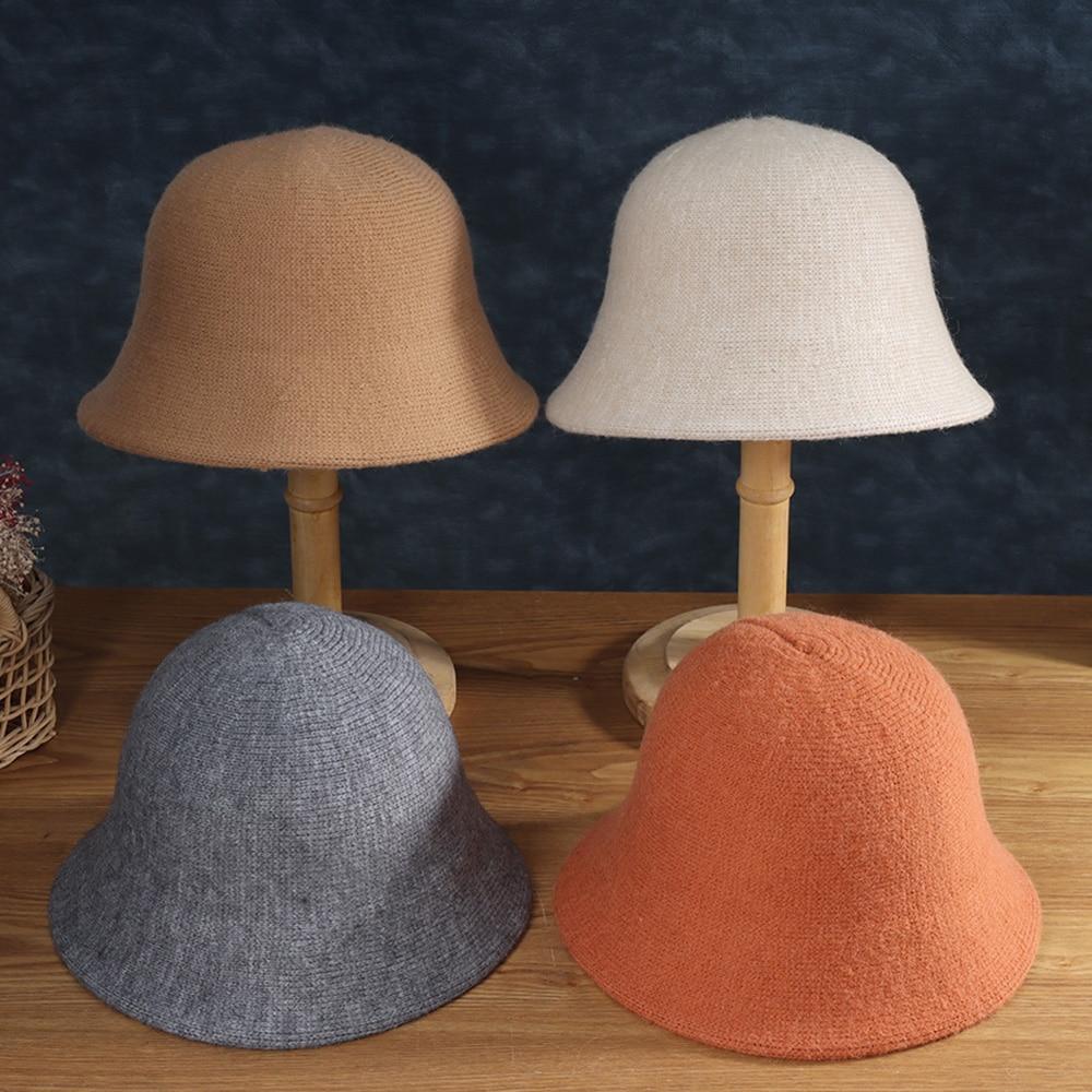 Новая модная зимняя женская панама для подростков, фетровая шляпа для девочек, модная зимняя меховая Черная шапка в стиле хип-хоп