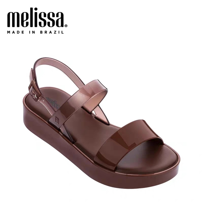 Melissa Lip Platform Summer Women Adulto Jelly Shoes Fashion Sandals 2020 New Women Jelly Sandals Melissa Female Shoes Sandalias