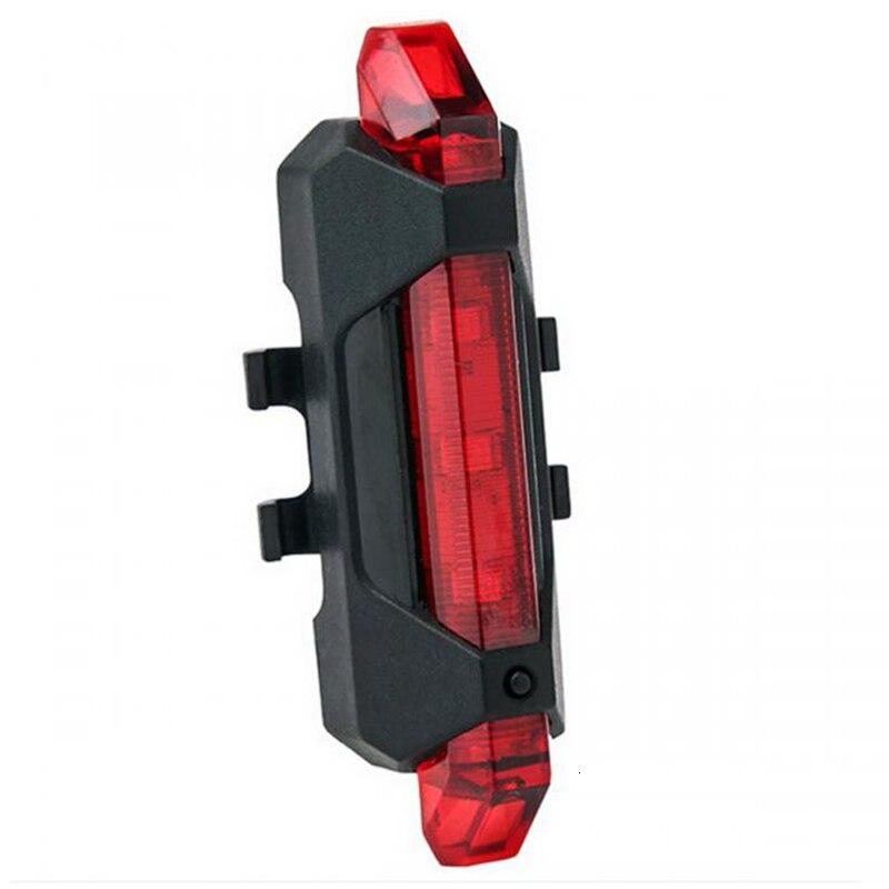 LOVELION-luz trasera recargable para bicicleta, luz LED trasera de seguridad, recargable vía USB, luz impermeable para ciclismo