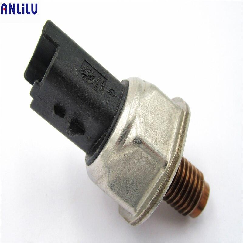 Sensor de presión de riel de combustible adecuado para Ford Fiesta Citroen Peugeot 1,4 Peugeot 1,6 Hdi Focus 1,4 1,6 Tdci 55PP06-02