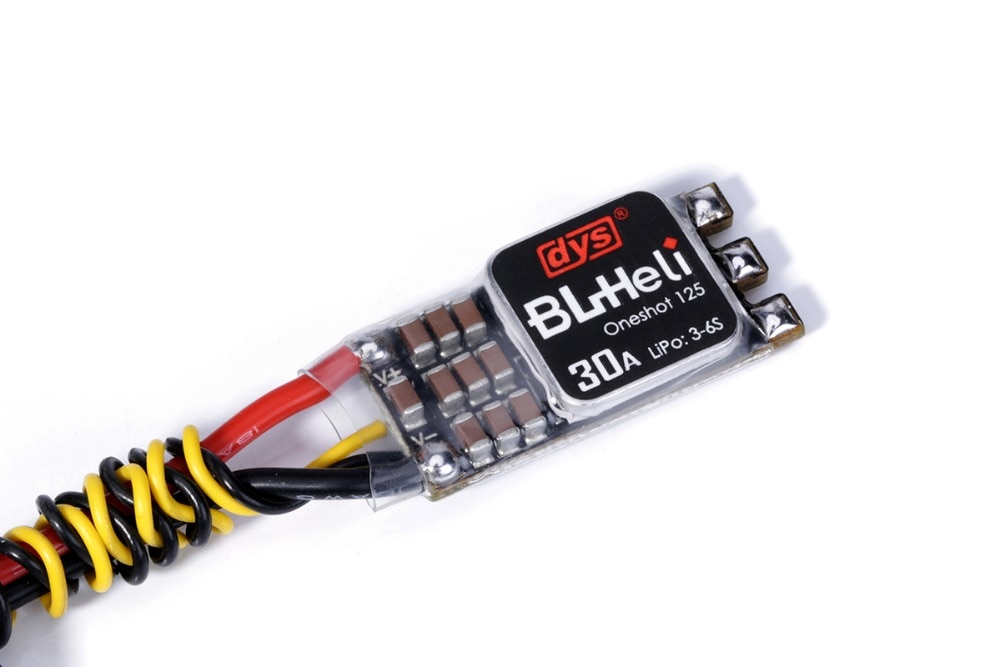 Clearance sale 4pcs DYS ESC XM30A 3-6S  BLHeli_S Supports Oneshot125/Multishot enlarge