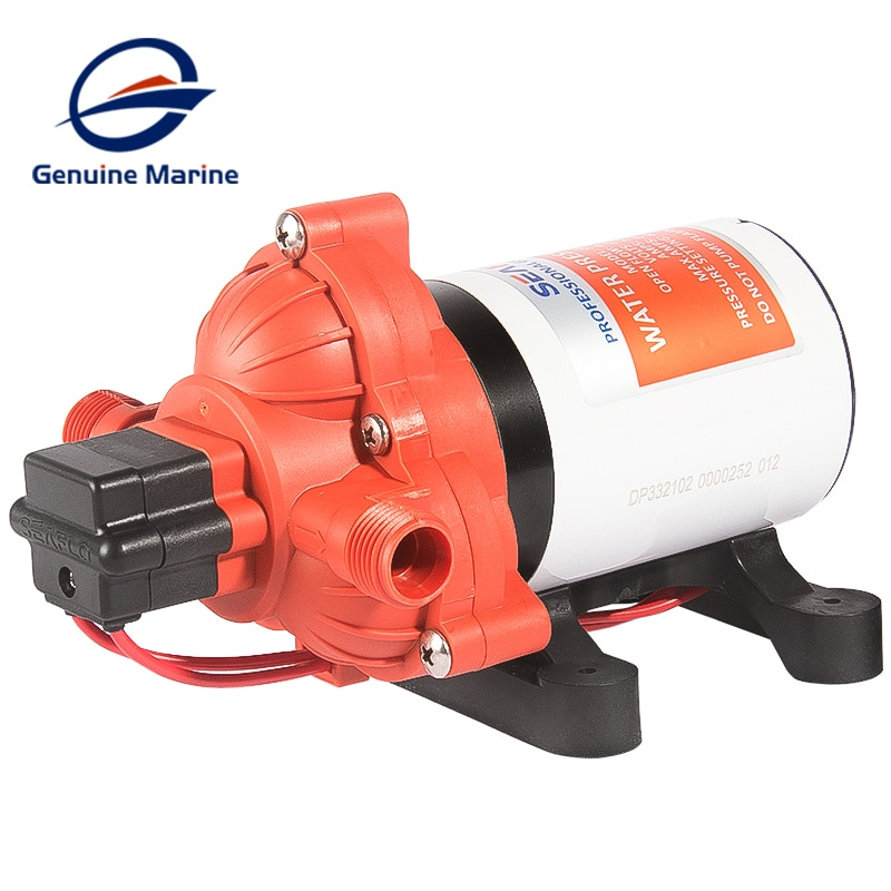 SEAFLO 33 Series Diaphragm Pump 3.0GPM 45PSI Automatic Water System 24V Self Priming Pump For Boat RV Accessories Shower Toilet enlarge
