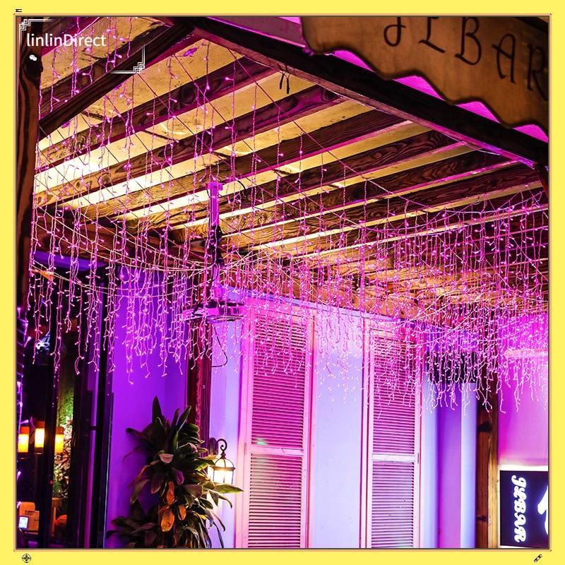 Color LED light bar flash light string light outdoor decorative light with garden water light sky star Bar Hotel ice bar light