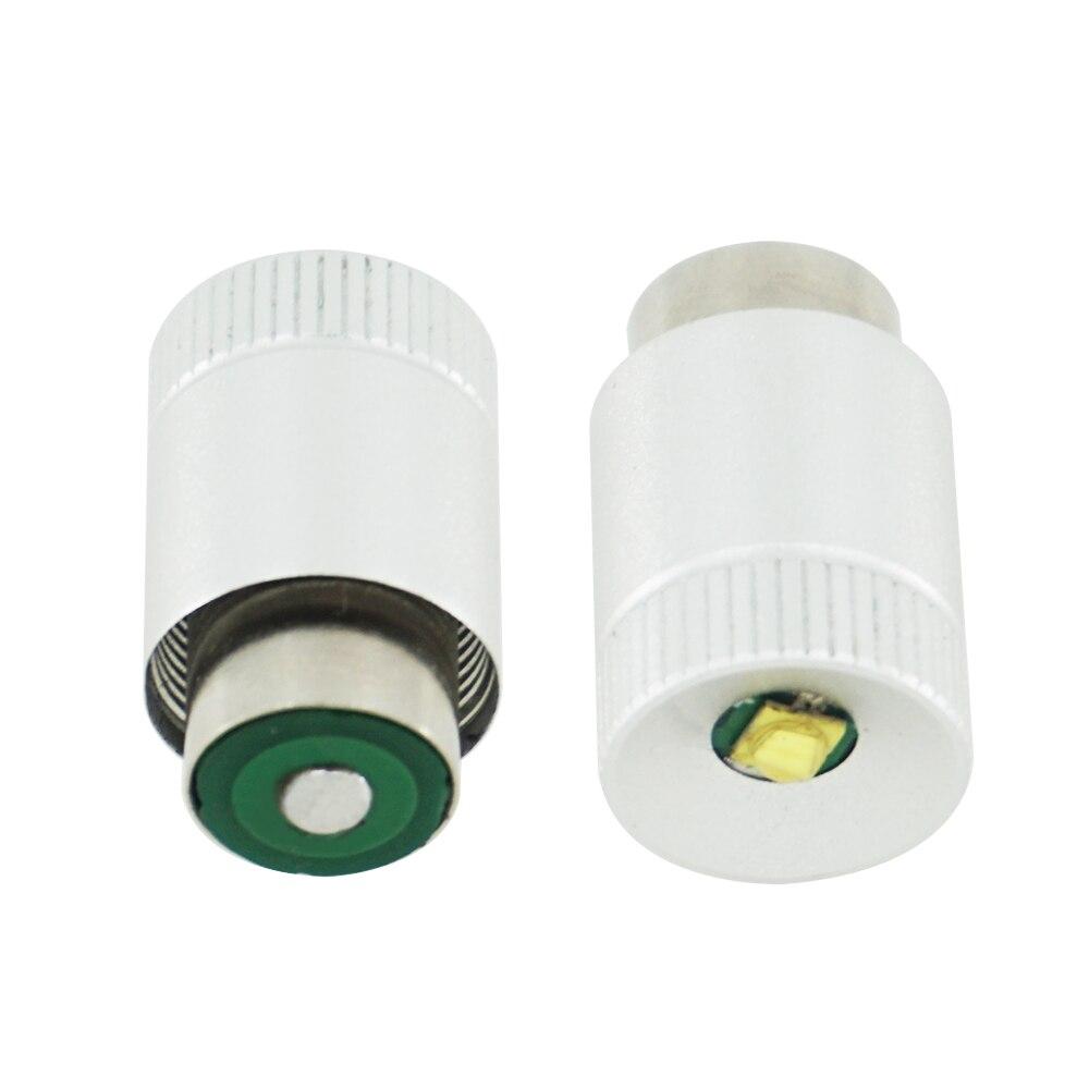 2pcs Maglite LED Bulb Conversion Kit LED Replacement torch magnesium Flashlight Bulbs LED light Bulb 3-6 C and D Cells