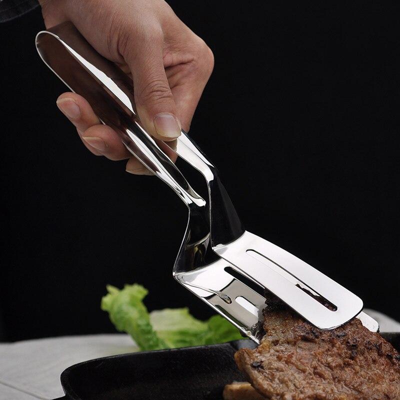 Accesorios de cocina, pinzas de pinza de barbacoa de acero inoxidable para cocina, pinzas para carne, pinzas para huevos, pan, utensilios de cocina, pinzas para Buffet