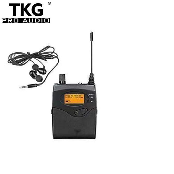 TKG لاستقبال SR2050 ريال 2050 في الأذن نظام مراقبة SR-2050 اللاسلكية في الأذن نظام مراقبة iem