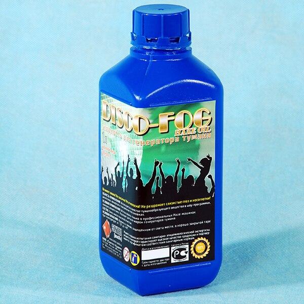 Disco Fog Haze Oil Жидкость для генераторов тумана, масляная основа, 1л, Синтез аудио