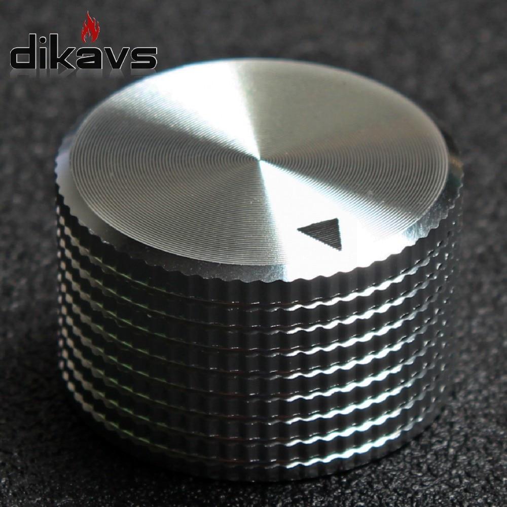 Solid Aluminum Knobs 25 X 15mm Potentiometer Encoder Knob Audio Volume Knobs