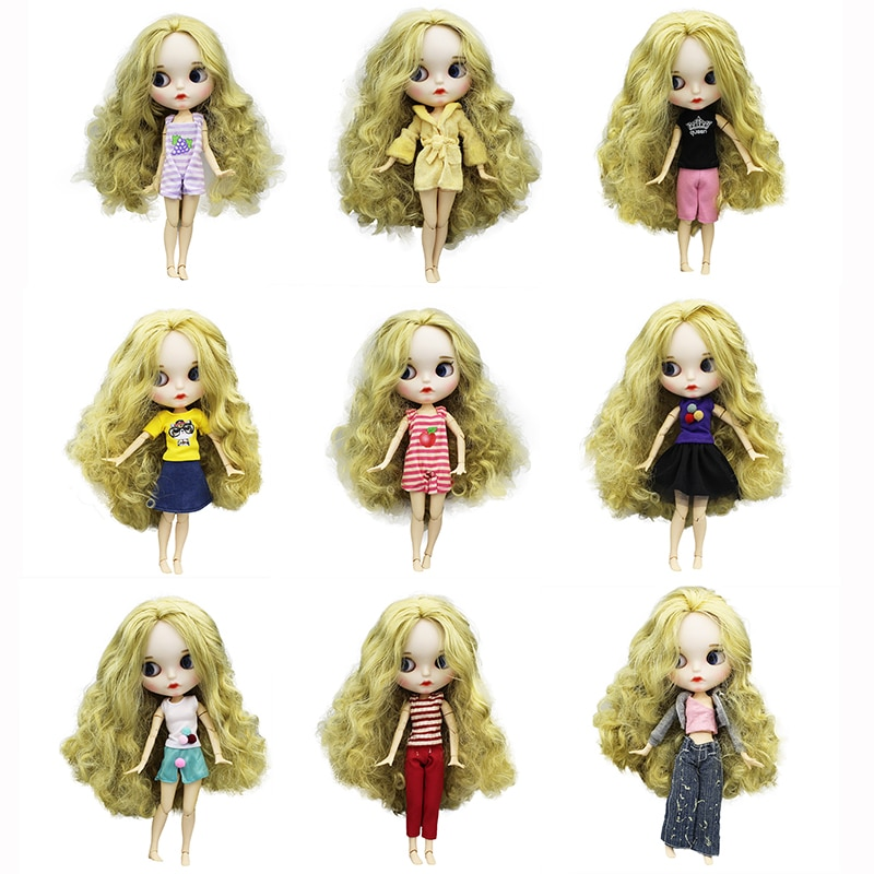 handmade high quality doll shoes for blythe azone momokolati jerryb doll accessories toys gift girl play house free shipping High quality dress doll clothes fIt for blythe doll clothes and accessories toy