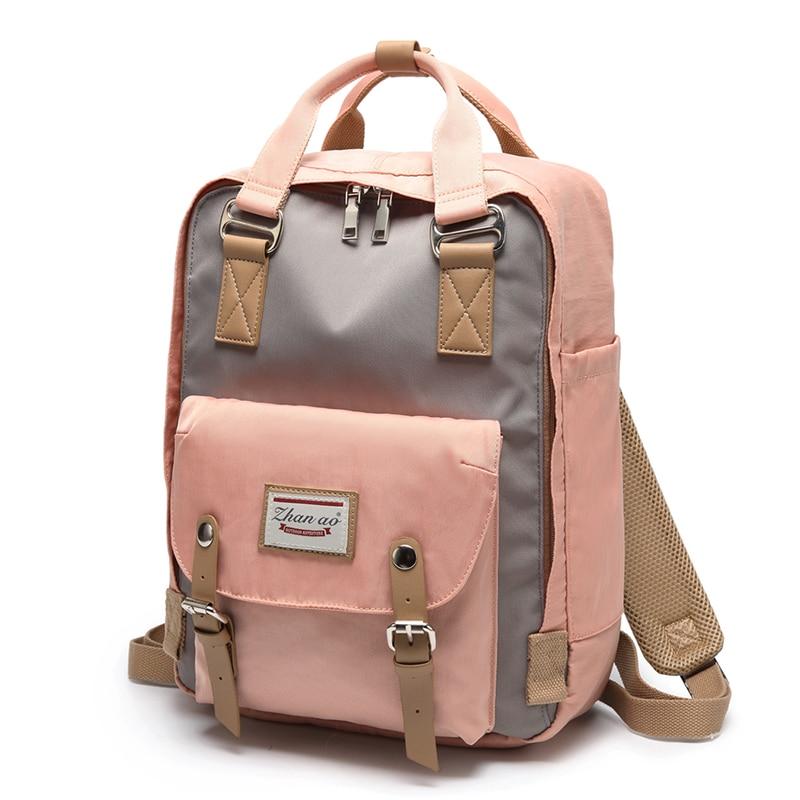 Рюкзак для подростков 2021, Модный женский рюкзак, вместительные стильные женские рюкзаки с пончиком для подростков, рюкзаки для школы