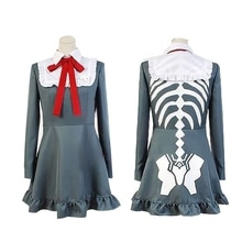Danganronpa Another Episode:Ultra Despair Monaca Towa cosplay Costume Dress Anime Monaka Monaca Towa