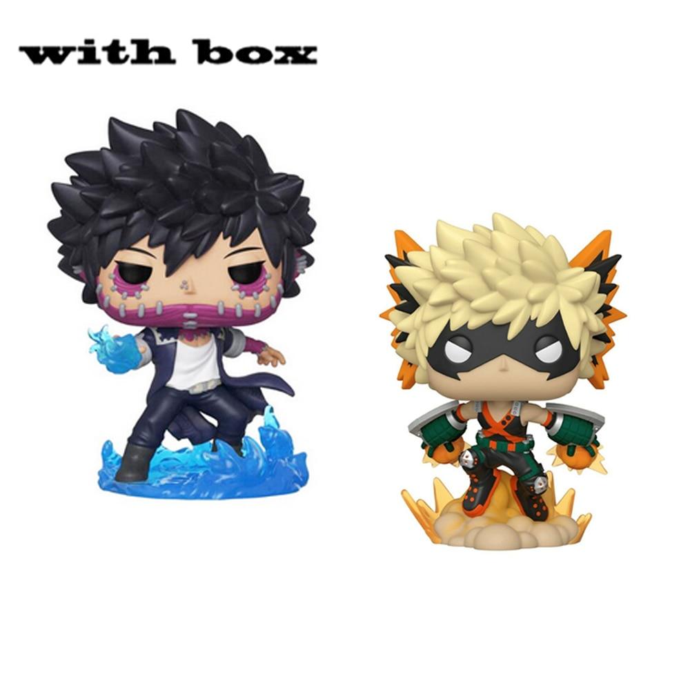 POP-figuras de acción de My Hero Academia Katsuki Bakugo #803, juguetes de modelos coleccionables para niños
