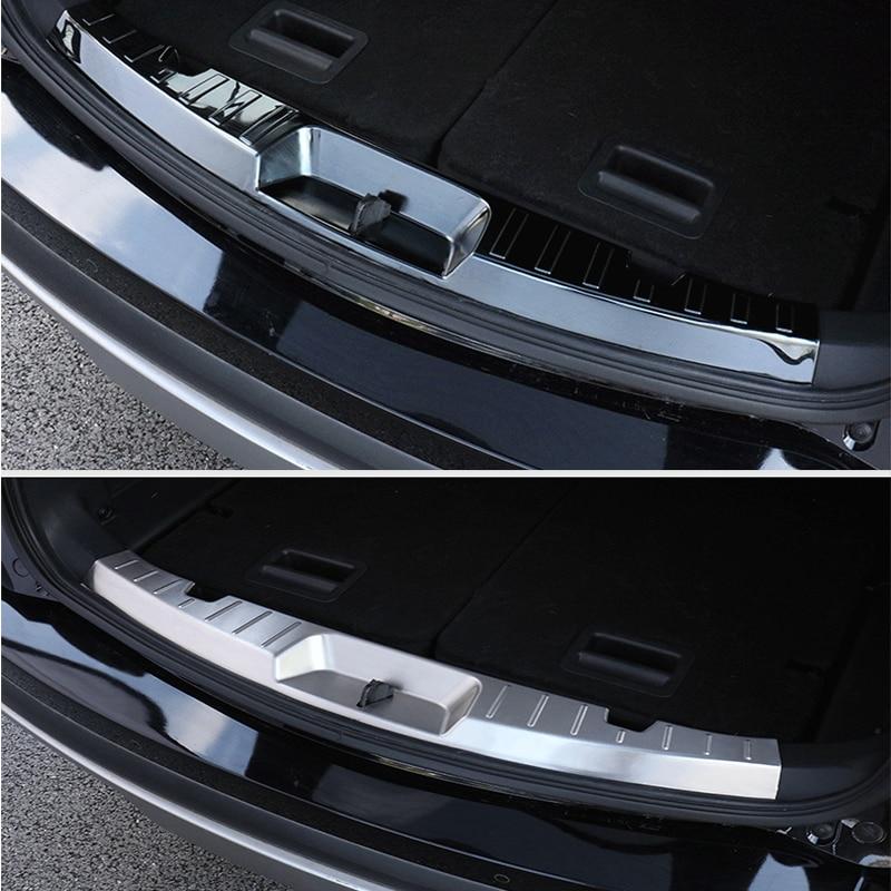 Защитная накладка на задний бампер, защита порога, накладка на задний багажник для Ford Explorer 2016 2017 2018 2019, аксессуары