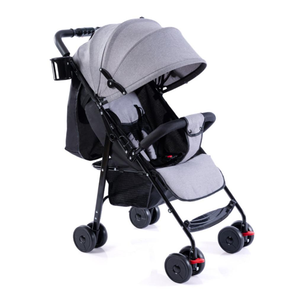 Kidlove bebé plegable carrito lleno dosel sombrilla de previstas portátil bebé paraguas carro