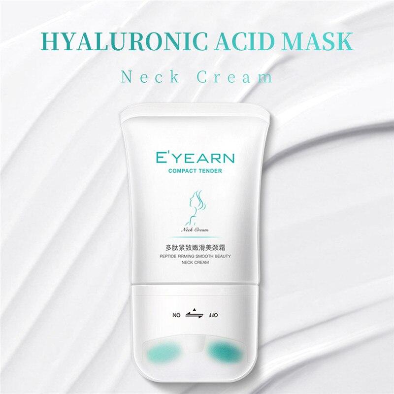 Neck Firming Wrinkle Remover Cream with stroker Whitening Moisturizing Shape Beauty Neck Skin Care P
