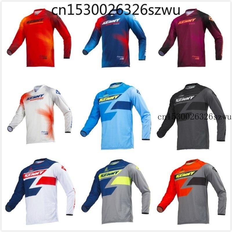 Camisetas para Motocross, Jersey de descenso DH para bicicleta de montaña, maillot...