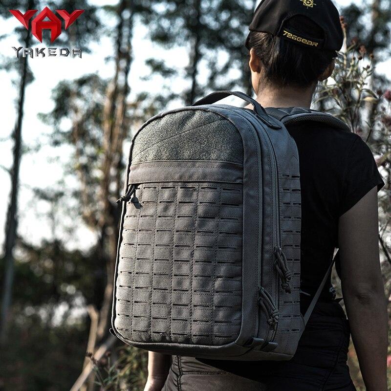 YAKEDA Big Capacity backpacks travel rucksack leisure hunting Outdoor Durable bags daily Sports Backpack waterproof