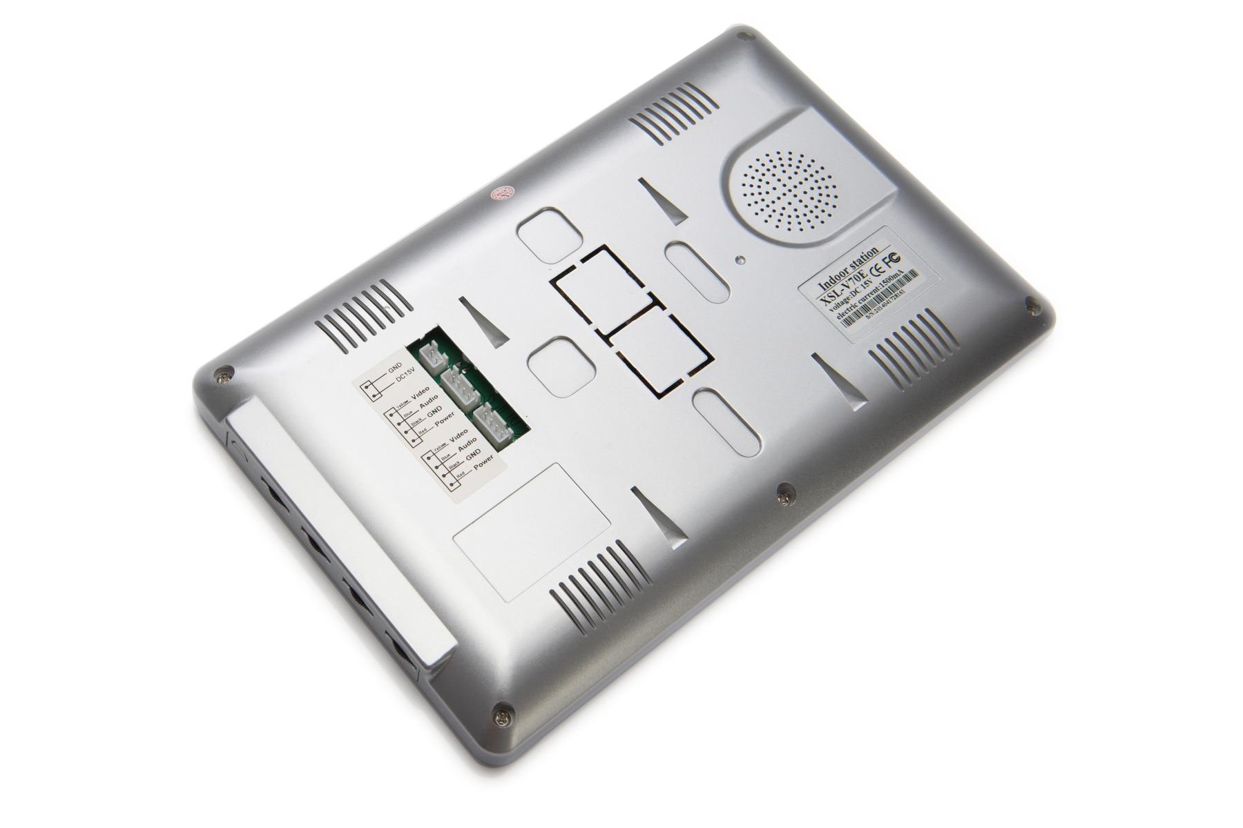 7 Inch Video Doorbell Intercom Door Bell with Camera and Monitor Doorphone System Night Vision for Villa Apartment enlarge
