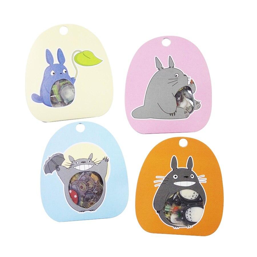 60 unids/lote de pegatinas coloridas de dibujos animados para niños para decoración de niños DIY producto diario teléfono portátil pegatina de dibujos animados