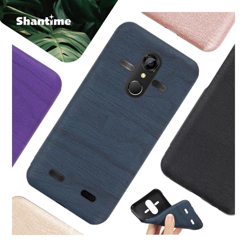 Чехол для телефона из искусственной кожи под дерево для AGM A9 Мягкий силиконовый чехол для AGM A9 гелевый силиконовый защитный чехол