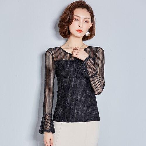 G548393 alta calidad moda OL Camisa de gasa