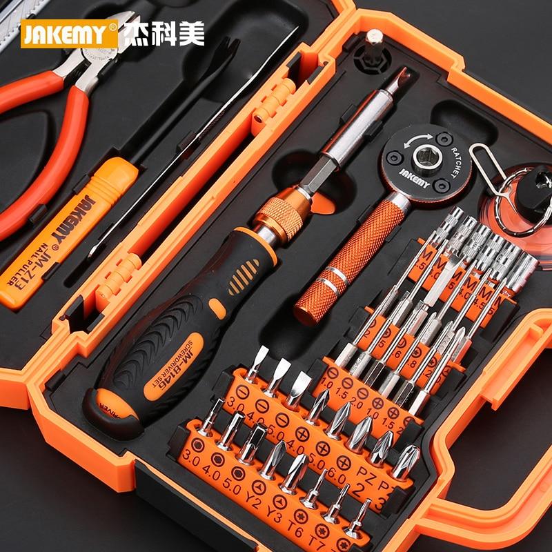 Screwdriver Hand Tools Set Repair Professional Box Kit Mechanic Tools Multi Rotary Tool Furniture Socket Set Outils Hand Tools недорого