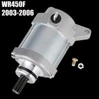 Starter Motor for Yamaha WR450F WR 450F 450 F 2003 2004 2005 2006 for 5TJ-81890-00 / 10/20