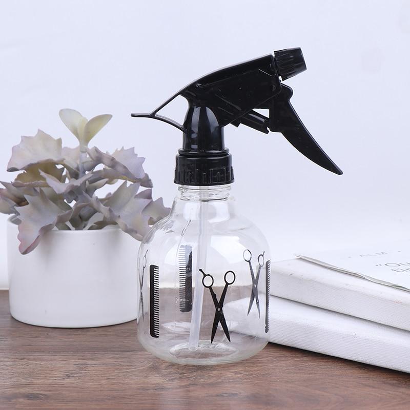 1pc 250ml Dual-use-Wiederverwendbare Friseur Spray Flaschen Schönheit Werkzeug Zubehör Haar Salon Werkzeug/Pflanzen Blumen wasser Sprayer