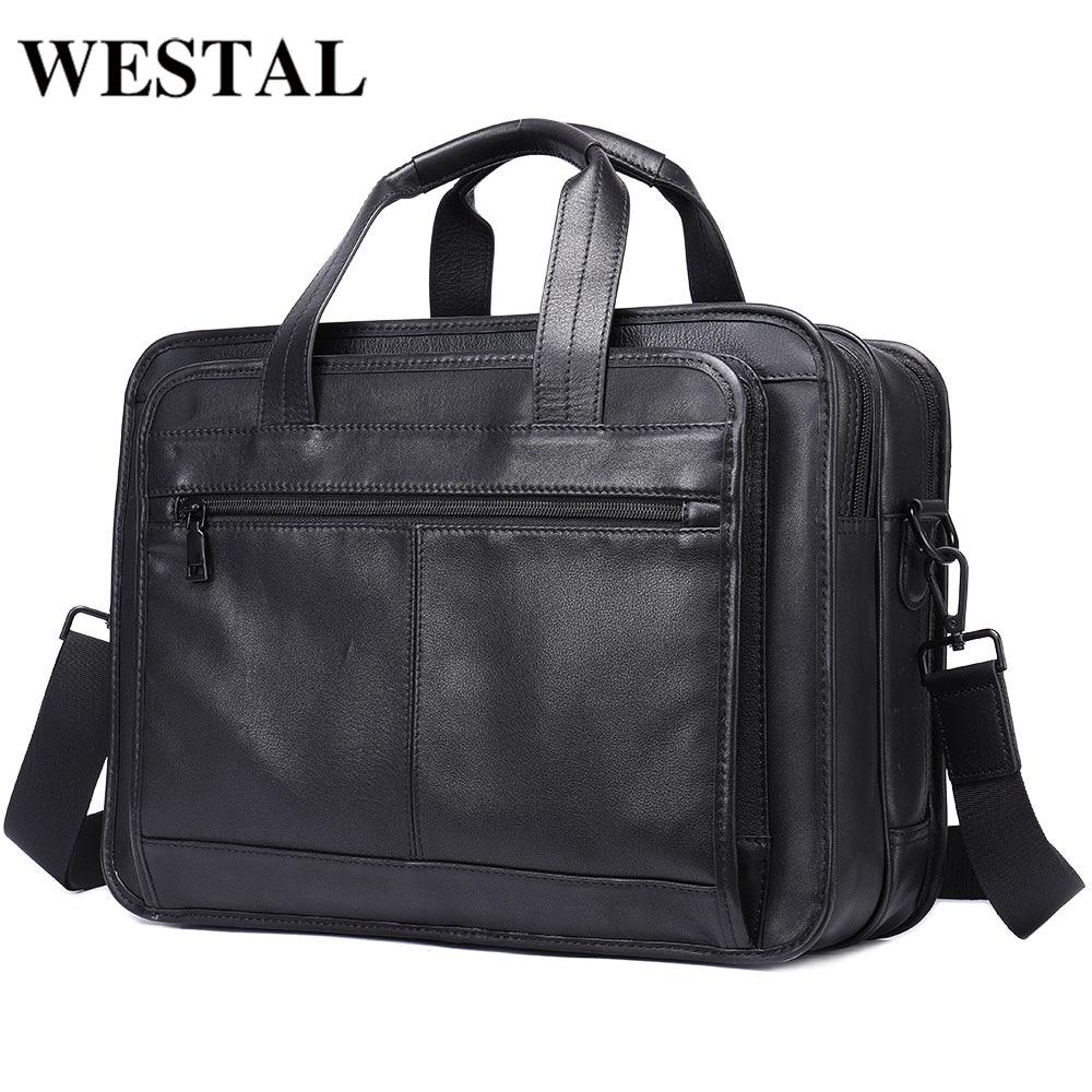 WESTAL Men's Bag For Document 15.6