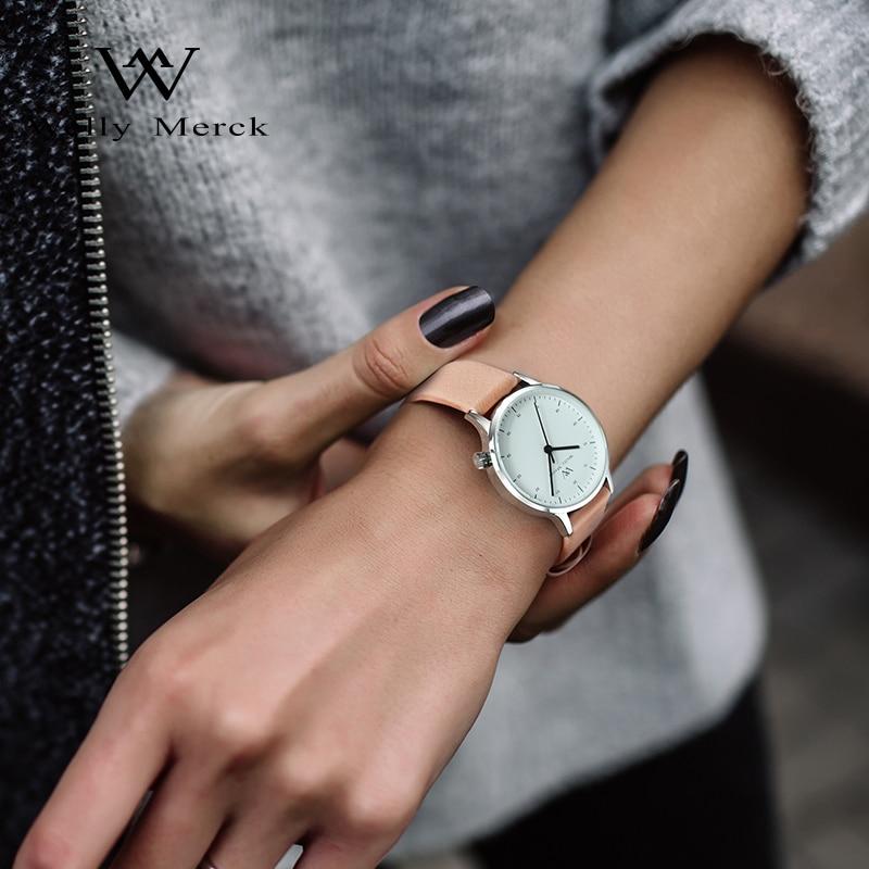 Welly Merck Brand Swiss Quartz Wristwatches Luxury Fashion Women's Watch 5ATM Waterproof Ladies Watch Relogio Feminino enlarge