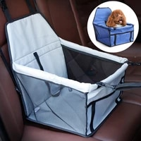 pet carriers dog car seat waterproof breathable travel folding pets cars mat hammock cat bag carrying cats dogs mat pet product