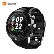 FocusSmart F18 GPS Smart Uhren Blutdruck Herz Rate Monitor Uhren Fitness Tracker IP68 Wasserdicht Kompass Smart Uhr