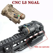 Airsoft Tactical L3 NGAL Next Generation Aiming Laser Appearance Red/IR Laser and flashlight For Hun
