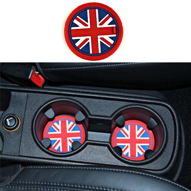 72 мм автомобильный коврик для чашки, гелевый силиконовый автомобильный Противоскользящий коврик для чашки Mini Cooper