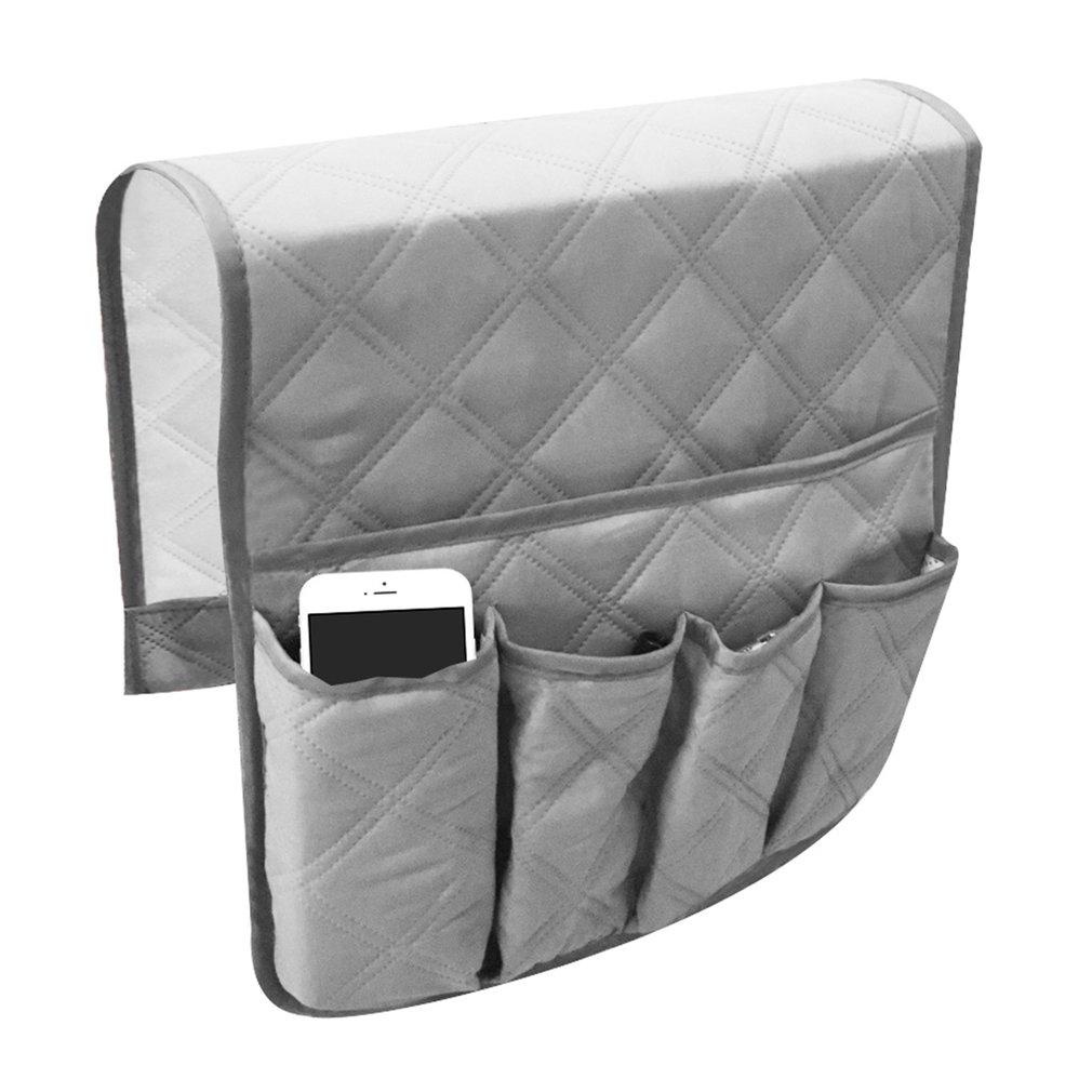 Impermeable Pongee, sillón, sofá, silla, bolsa de almacenamiento, mando a distancia, soporte para artículos diversos, organizador de cabecera de hogar, colgante