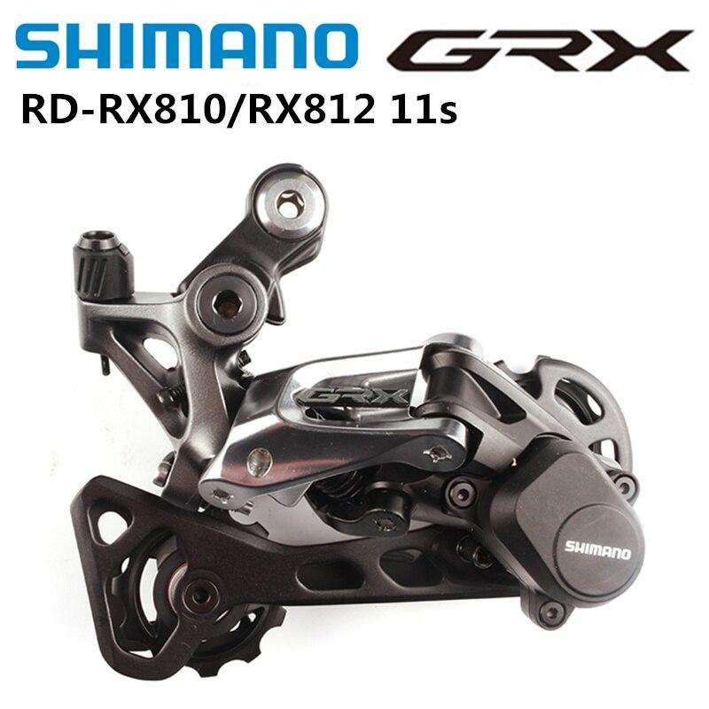 Shimano GRX RX RD RX812 RX810 2x11s Road Bike Rear Derailleur Shadow+ Clutch Compatible With RX800 R8000 R7000 Original Shimano