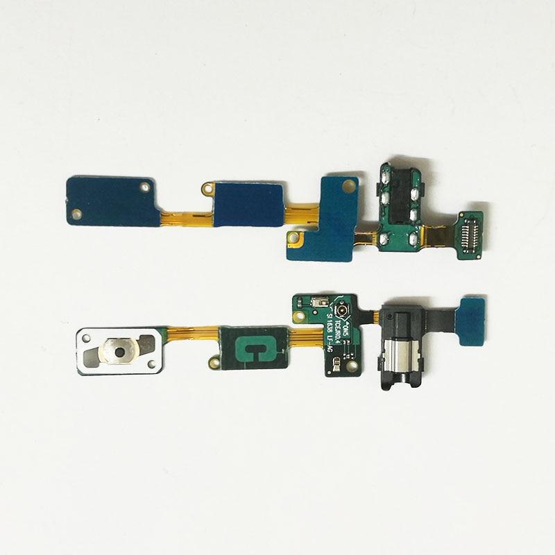 10 piezas para Samsung Galaxy J7 Prime G610F J5 Prime G570 botón de inicio tecla retorno Sensor menú auriculares Audio Jack flex Cable