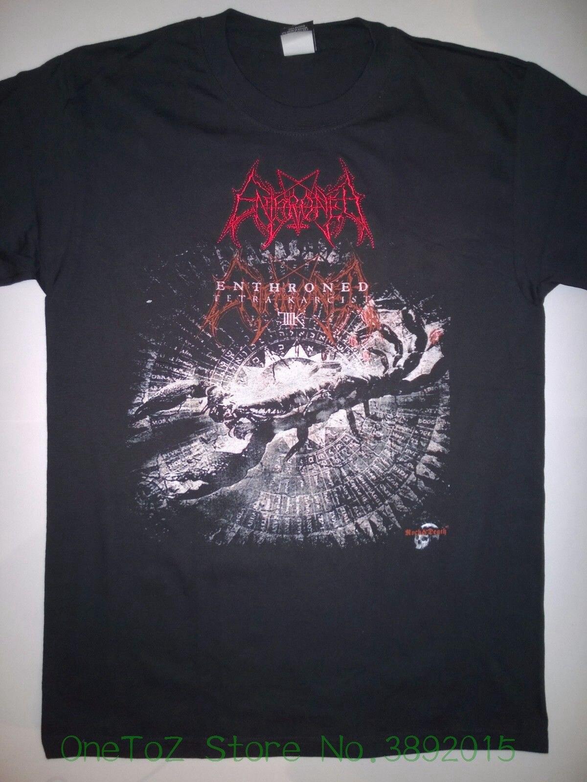 Camisetas de alta calidad para hombre, camiseta entronada mediana, Logo bordado raro,...