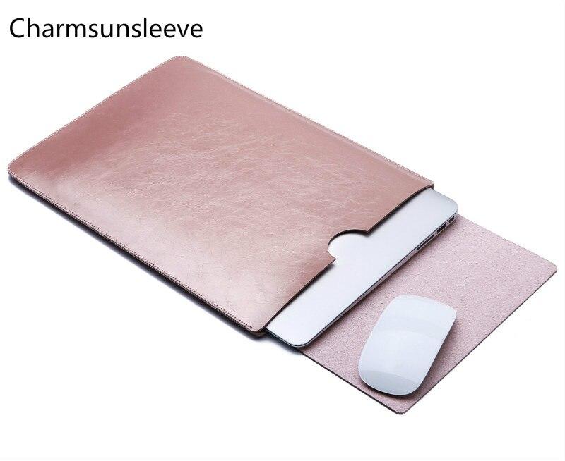 Charmsunsleeve для ASUS Zenbook 15 UX533FD ультра-тонкий мешочек, микрофибра кожа сумка для ноутбука чехол