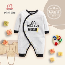 Car baby romper spring and autumn bodysuit baby climbing clothes