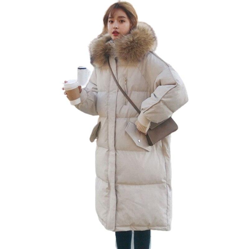Artifical Fur Collar Hat Dames Jassen Winter Bread Jacket Women Ukraine Parka Manteau Veste Femme Hiver Casacos Feminino Coat