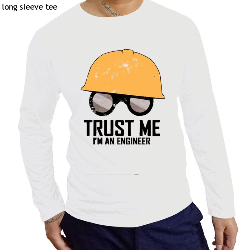 TF2 Fortress soy un ingeniero trust me Cool equipo Zinc 2 algodón hombres manga larga shubuzhi camisetas algodón cuello redondo casual