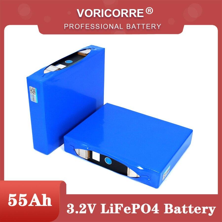 VariCore 3.2V 55Ah battery pack LiFePO4 phosphate 55000mAh for 4S 12V 24V 3C Motorcycle Car motor batteries modification Nickel