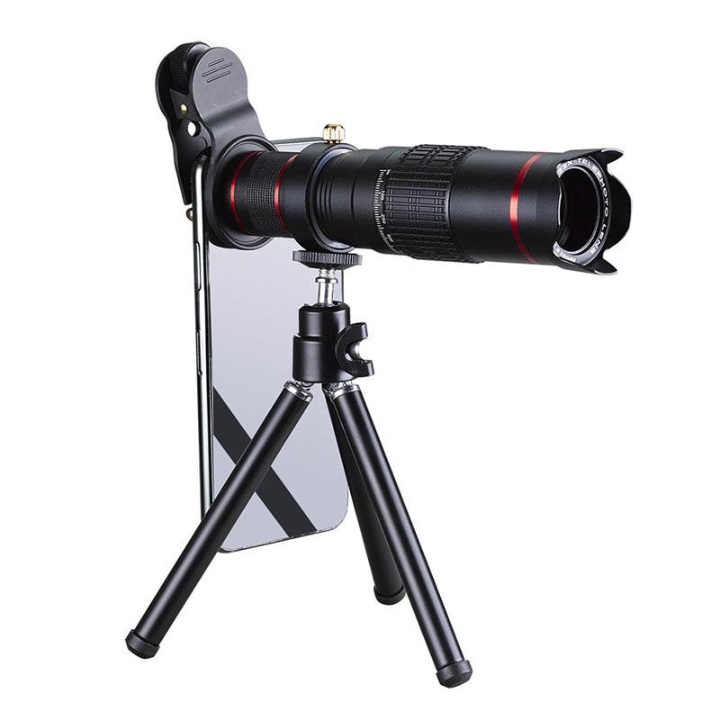 Celular Mobile Phone Câmera 22x de Zoom Óptico Telescópio Lente Telefoto Para Iphone Samsung Huawei Xiaomi barato