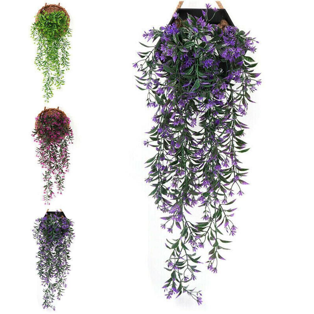 Fengrise 80 cm 1 stuks kunstbloemen videira folha de hera falso thuis bruiloft decoratie planta krans kunstplanten groene q4m0